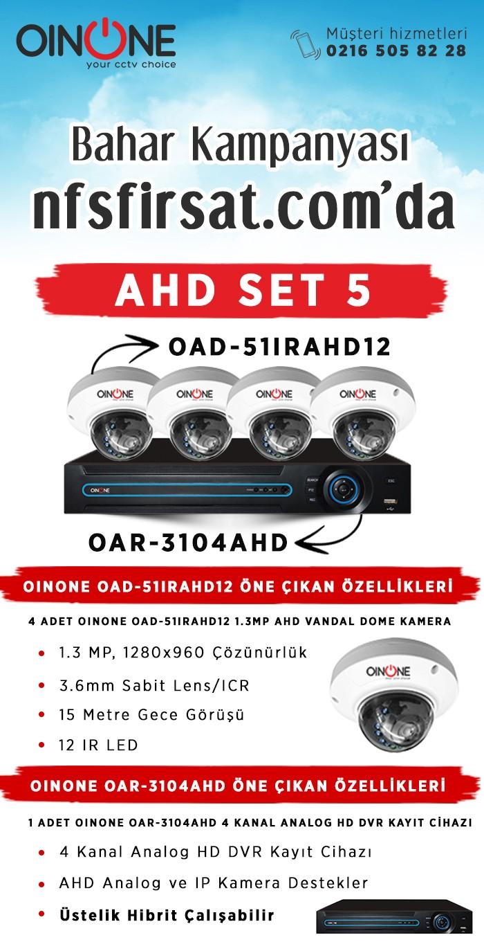 AHD Kamera Set 5