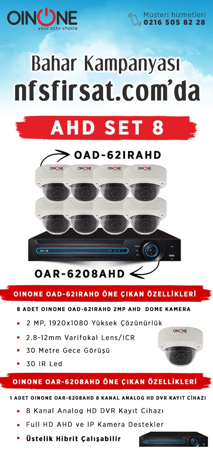 AHD Set Kamera 8
