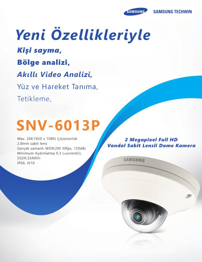 2 MP Network Vandal Dome Kamera