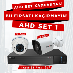 32'li AHD Set Kampanyası
