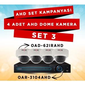 AHD Kamera Set 3
